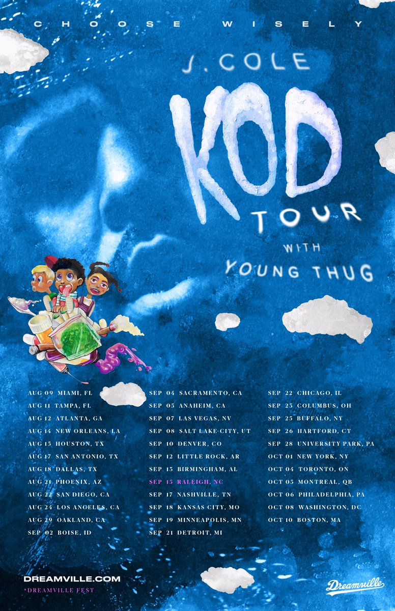 Toyota Of New Orleans >> J. Cole Announces 'KOD' Tour with Young Thug | HipHop-N-More