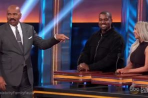 Watch A Teaser of Kanye & The Kardashians' 'Family Feud' Episode