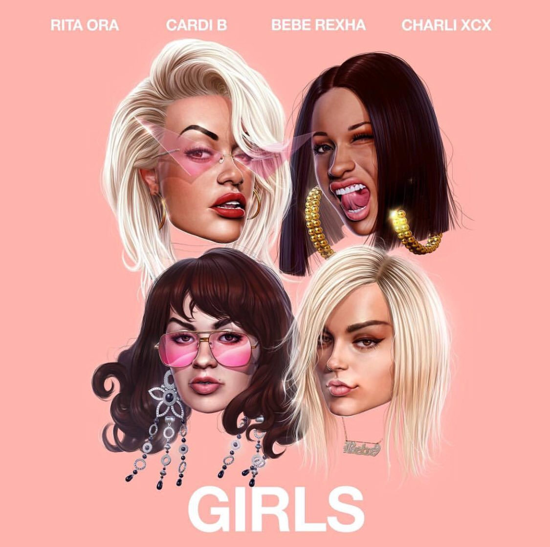 Rita Ora, Charli XCX, Bebe Rexha & Cardi B Team Up For 'Girls'