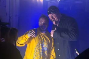 Watch The Undertaker Chokeslam Post Malone at Texas Concert
