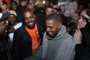 Kanye West & Kid Cudi Play Private Show in L.A.: Watch