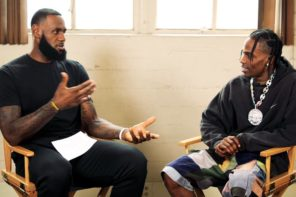 Watch LebRon James Interview Travis Scott