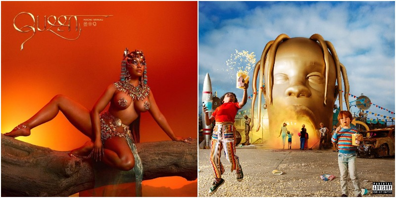 Nicki Minaj's 'Queen' Debuts at No  2 on Billboard 200