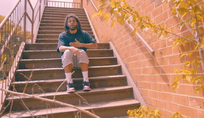 J. Cole – 'Album Of The Year' (Freestyle)