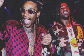 Listen to Wiz Khalifa & Travis Scott's New Song 'Trippin'