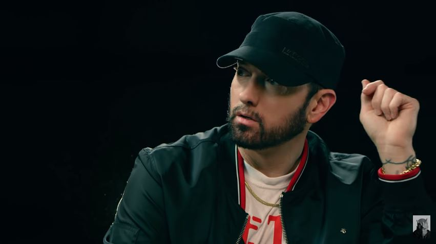 Eminem Speaks on Joe Budden & Machine Gun Kelly