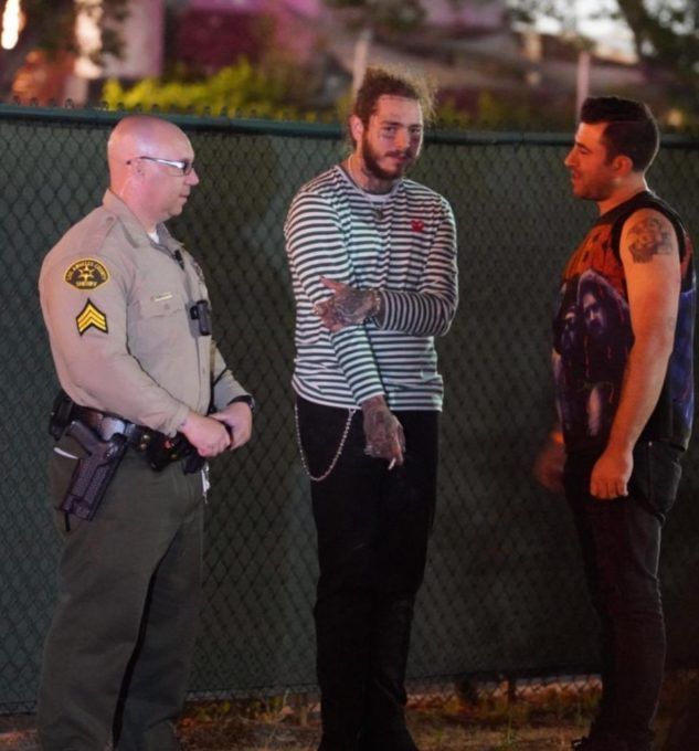 Post Malone Escapes Uninjured In Late Night Car Crash In