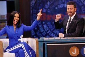 Cardi B Talks Fame & Wanting More Children on Jimmy Kimmel Live: Watch