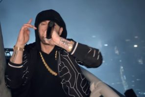 Eminem Performs 'Venom' From Empire State Building for Jimmy Kimmel