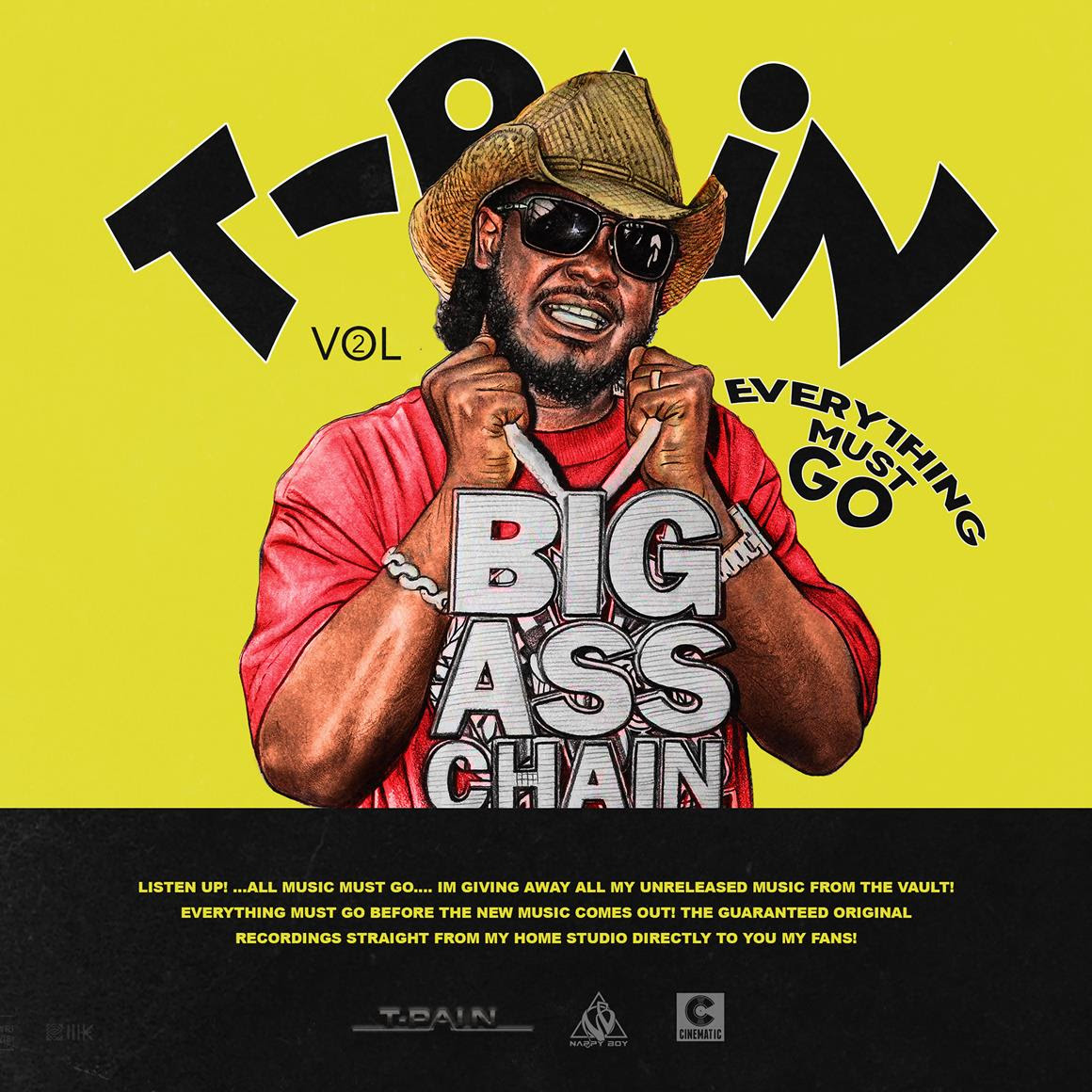 T-Pain Drops 12 Unreleased Songs in 'Everything Must Go Vol