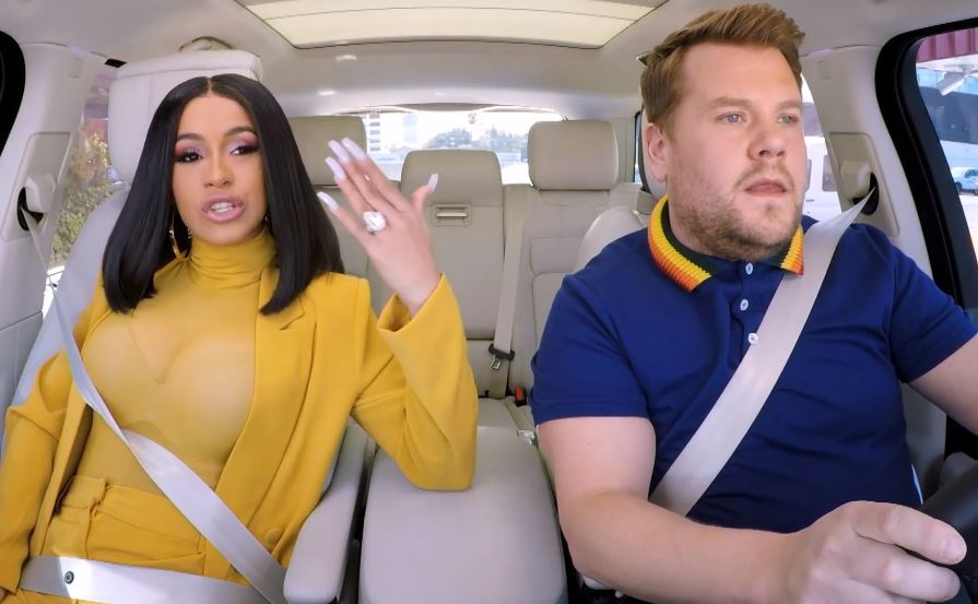 Cardi B's Carpool Karaoke Is Here
