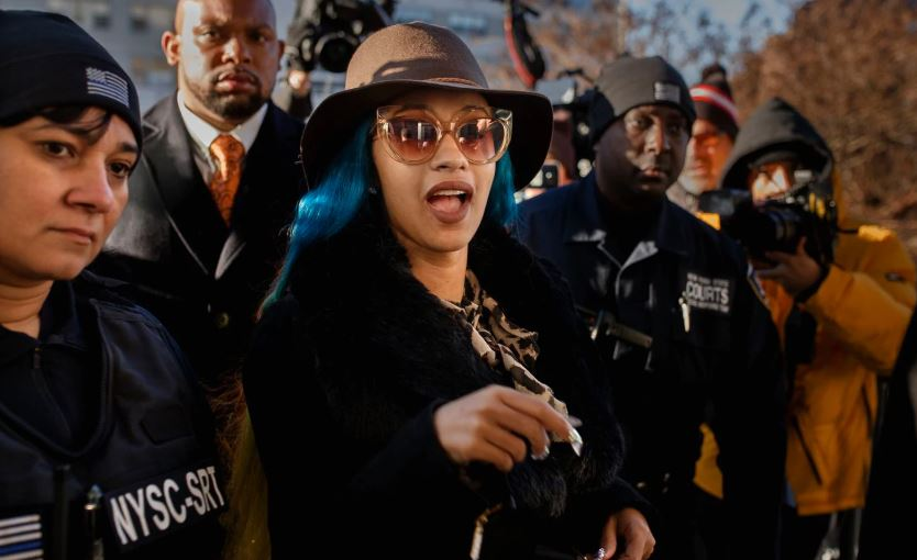 Cardi B shows up for court as judge issues orders of protection