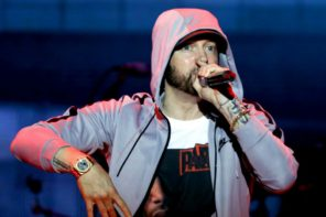 Eminem Throws Shots At MGK On Stage In Brisbane: Watch