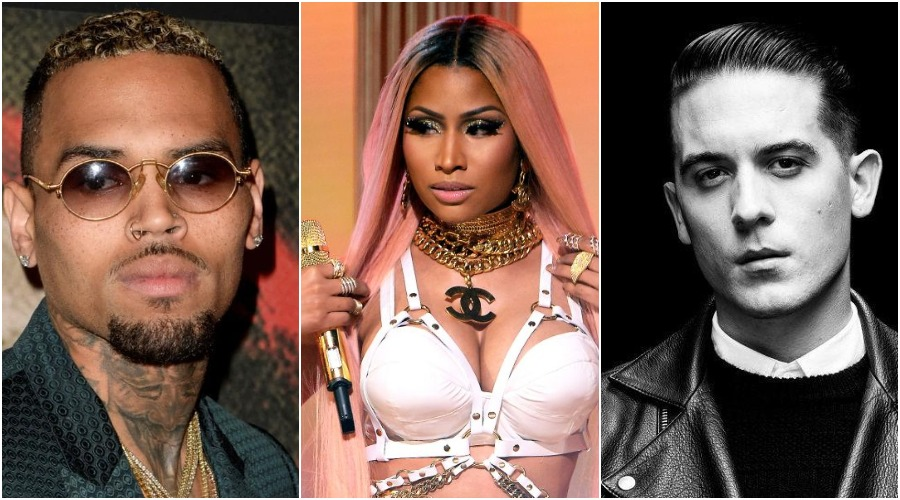 New Music: Chris Brown – 'Wobble Up' (Feat  Nicki Minaj & G