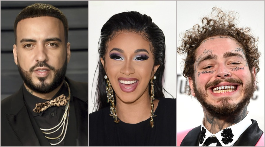 French Montana, Cardi B & Post Malone Shoot Music Video for