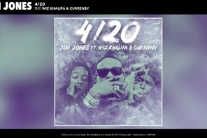 New Music: Jim Jones – '4/20' (Feat. Wiz Khalifa & Currensy)
