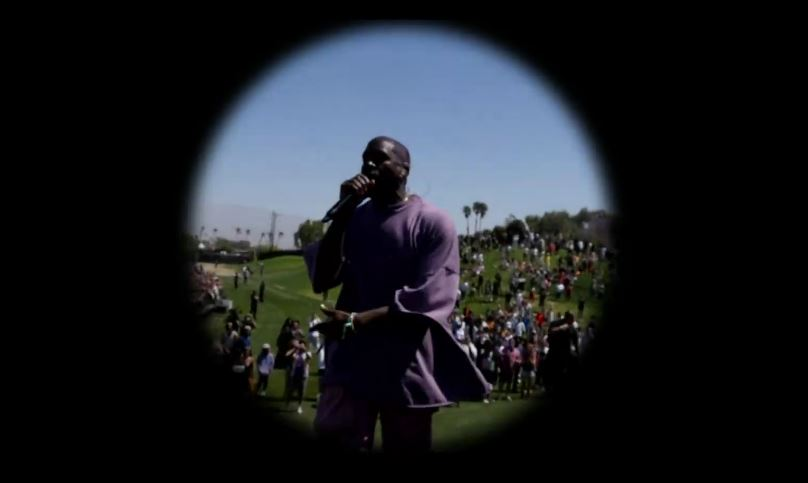 Kanye West debuts new song at Coachella Sunday service