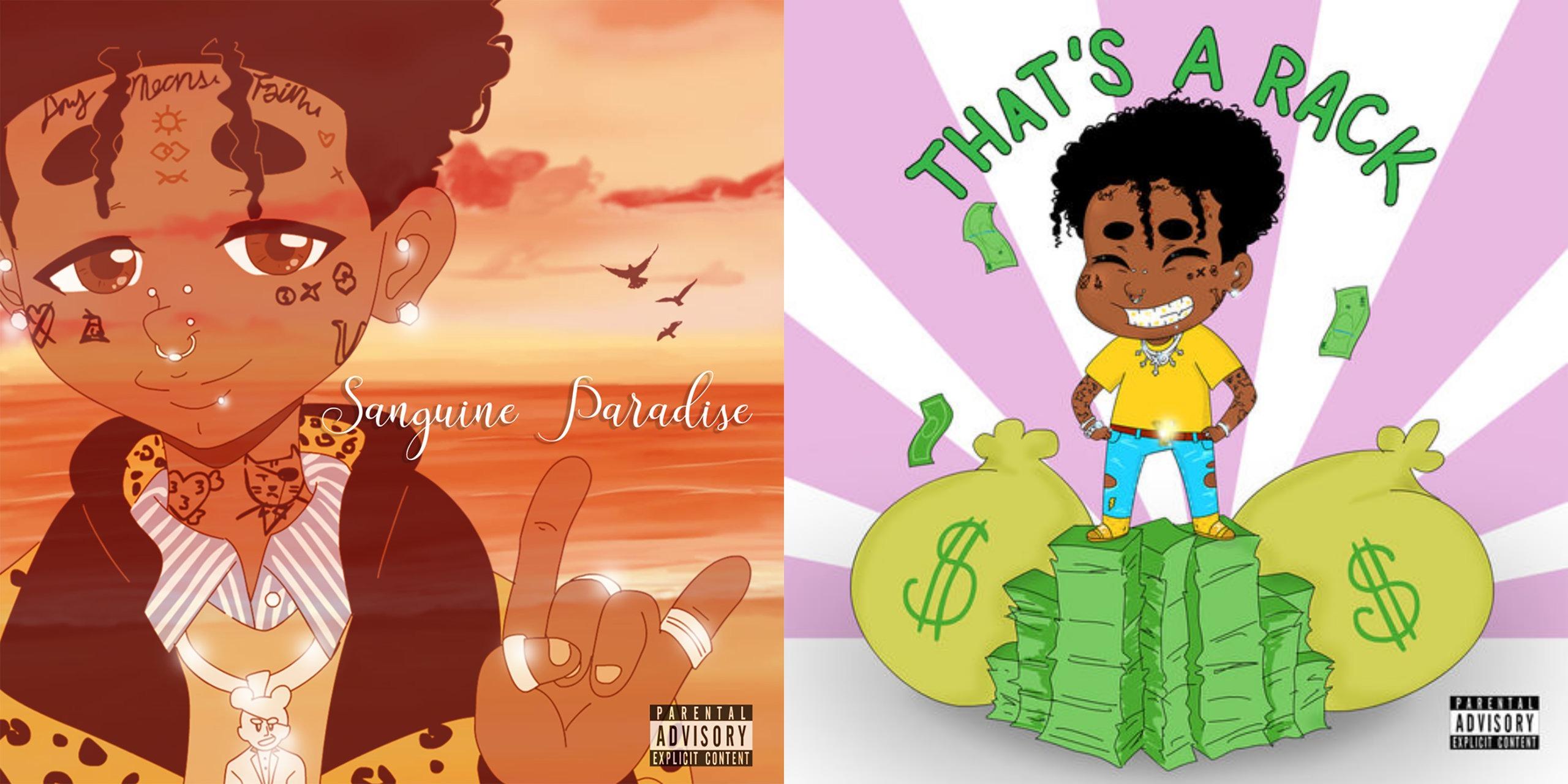 Lil Uzi Vert Releases 'Sanguine Paradise' & 'That's A Rack