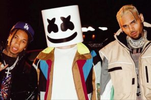 Chris Brown & Tyga Join Marshmello on New Song 'Light It Up': Watch