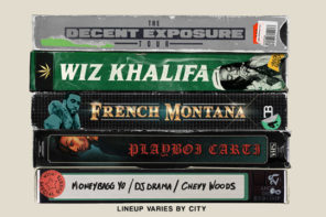 Wiz Khalifa Announces 'Decent Exposure' Tour With French Montana, Playboi Carti & More