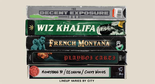 Wiz Khalifa Announces 'Decent Exposure' Tour With French Montana