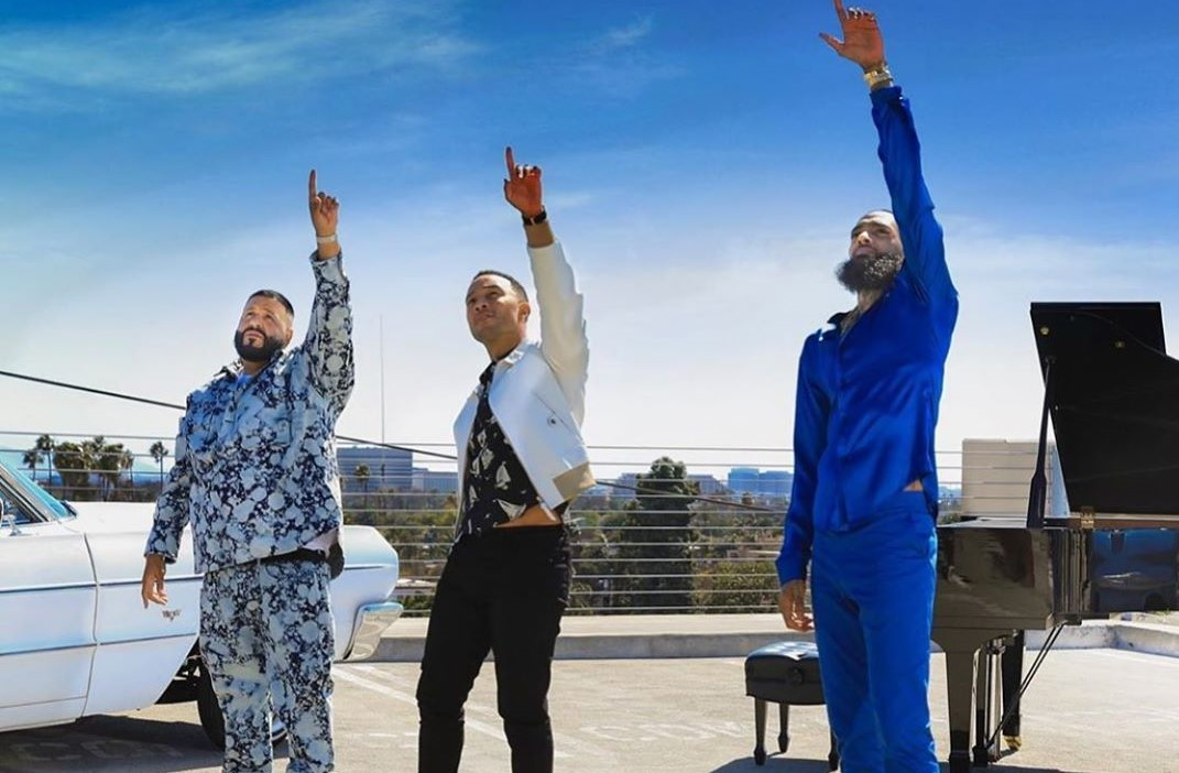 DJ Khaled Donates 'Higher' Profits To Nipsey Hussle Kids