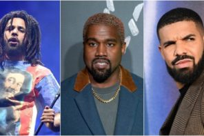 Kanye Takes Shots at J. Cole & Drake in Newly Surfaced Snippet: Listen