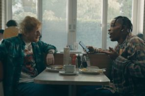 Watch Ed Sheeran & Travis Scott's 'Antisocial' Music Video