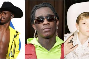 Lil Nas X Enlists Young Thug & Mason Ramsey on 'Old Town Road' Remix: Watch