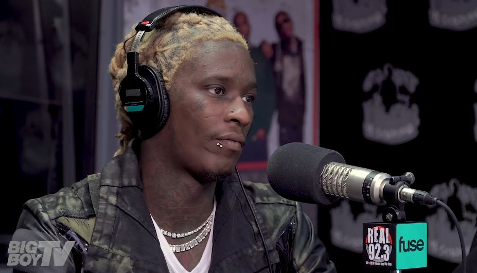 Young Thug Talks Relationship with Lil Wayne & Rich Homie