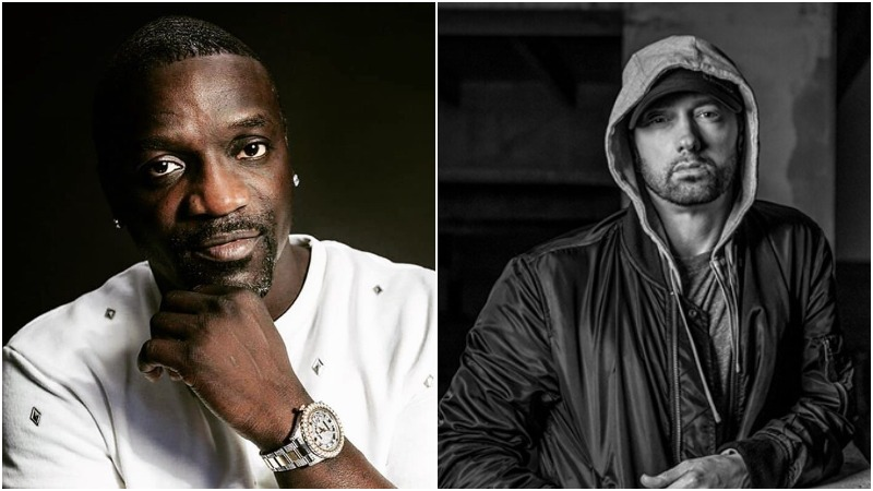 Akon Shares Hilarious Story About Eminem's Process in The Studio