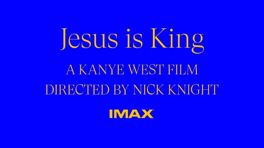 Watch the trailer for Kanye West's Jesus Is King IMAX film
