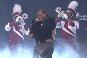 Wale Performs 'On Chill' & 'Sue Me' With Jeremih & Kelly Price At 2019 Soul Train Awards