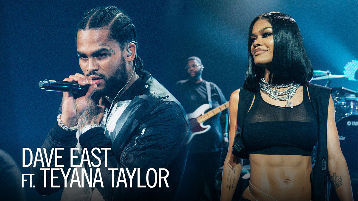 Dave East & Teyana Taylor Perform 'Need A Sign' on James Corden