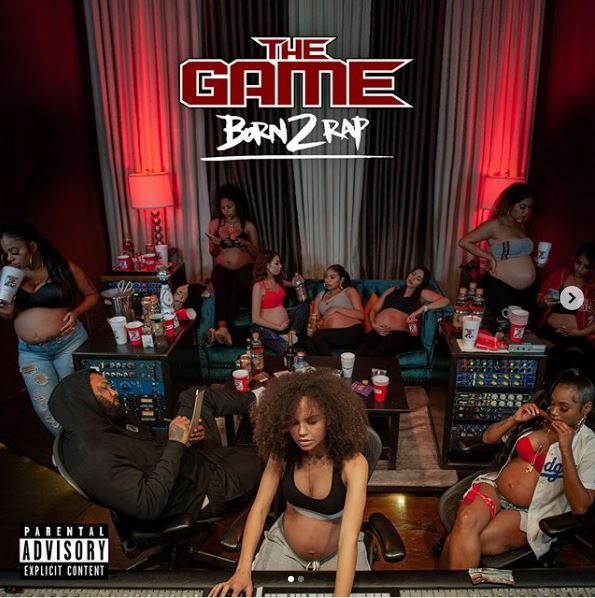 The Game Reveals 'Born 2 Rap' Album Cover & Track List