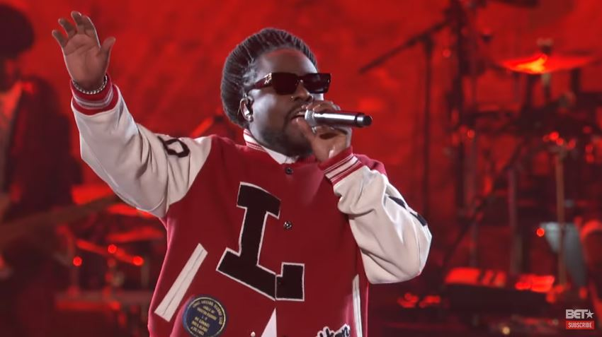 wale performance on bet