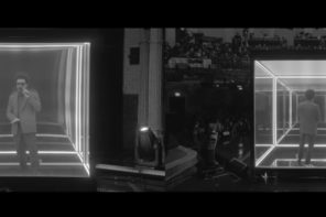 The Weeknd Performs 'Blinding Lights' on Stephen Colbert