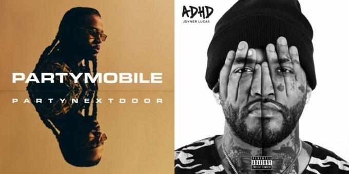 PARTYNEXTDOOR 'PARTYMOBILE' & Joyner Lucas 'ADHD' First Week Sales Projections | HipHop-N-More