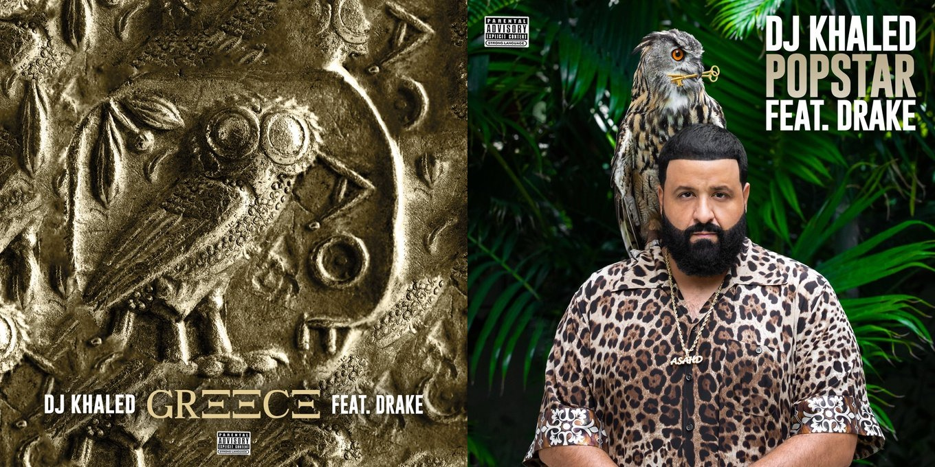 Drake Jumps On New DJ Khaled Tracks Popstar and Greece